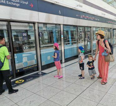 Dubai pelo nosso próprio pé